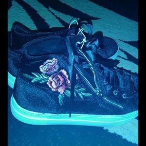 Bebe sneaker booties